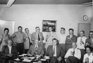 Kollegium Ende der 50er Jahre
